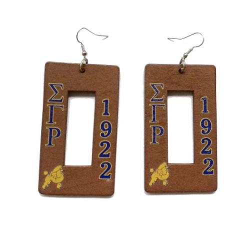 SGR Wood Earrings