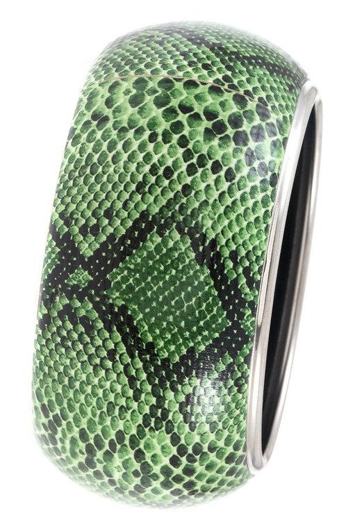 Snake Pattern Bangle Bracelet