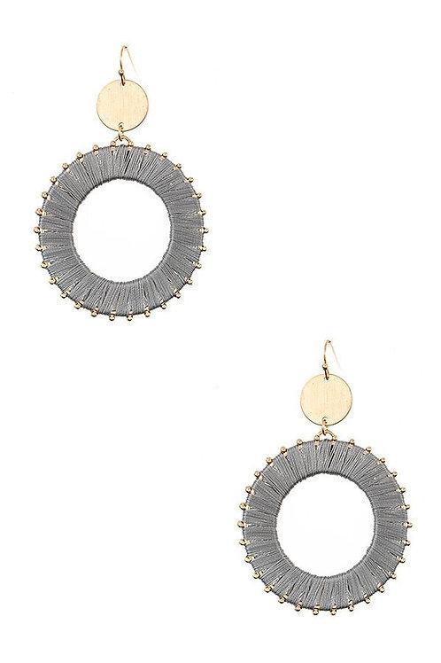 Double Link Metal Earrings