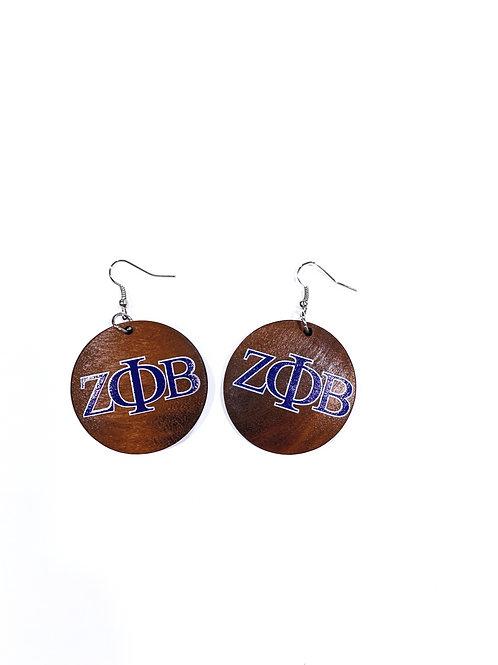 ZPB Wood Earrings