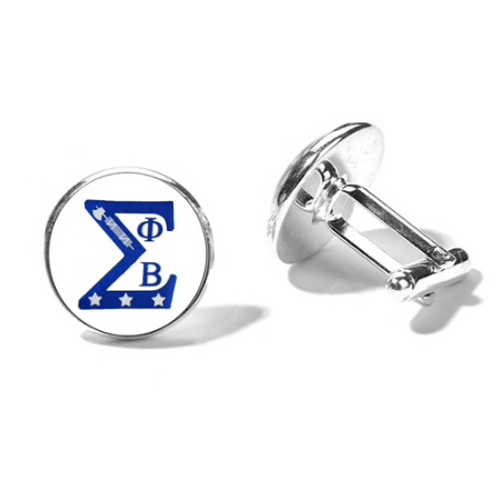 Phi Beta Sigma Cuff Links