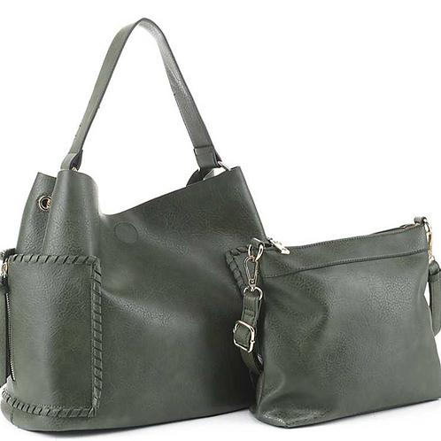Double Sided Hobo Bag & Mini Bag Set