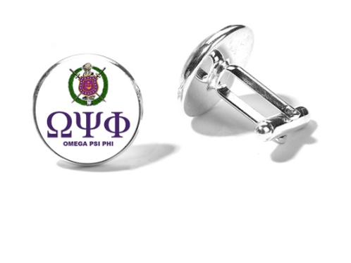 Omega Psi Phi Cuff Links