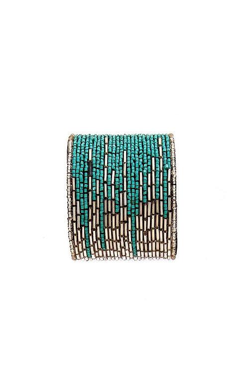 Multi Beaded Bangle Bracelet