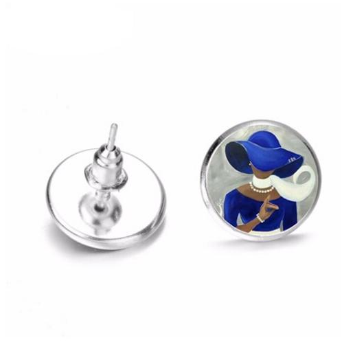 ZPB Stud Earrings