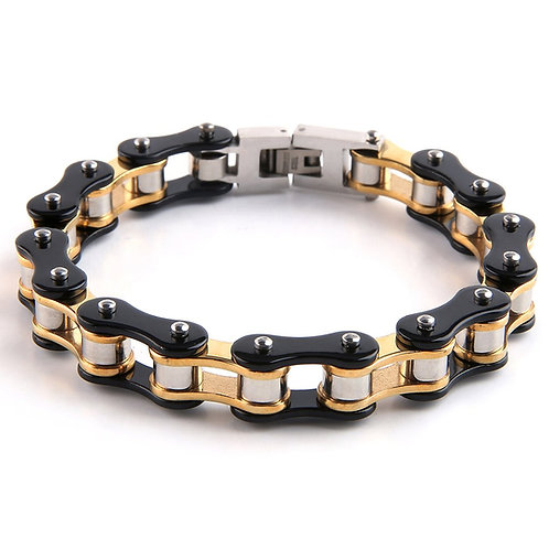 Stainless Bike Chain Bracelet