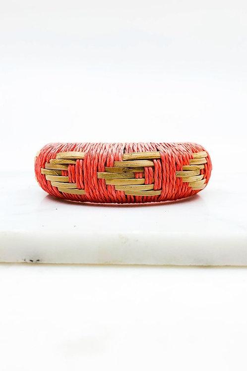 Wicker Threaded Bangle