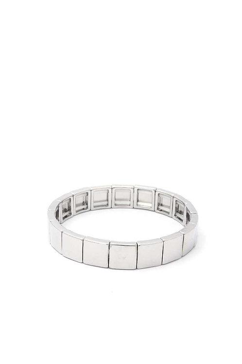 Stretch Block Bracelet