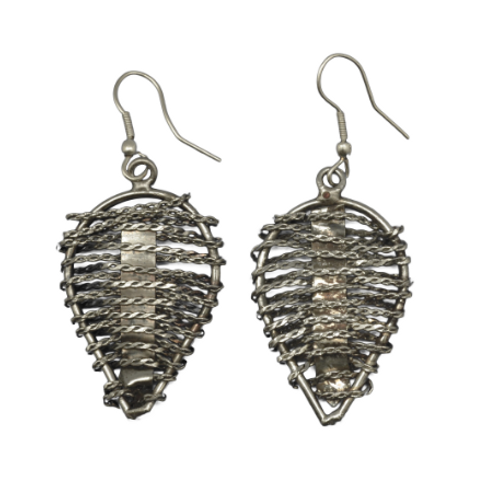 Leaf Shape Weave Earrings