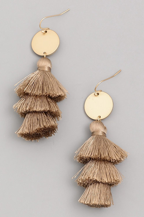 Drop Fringe Earrings
