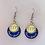 Thumbnail: Round Drop Sorority Earrings