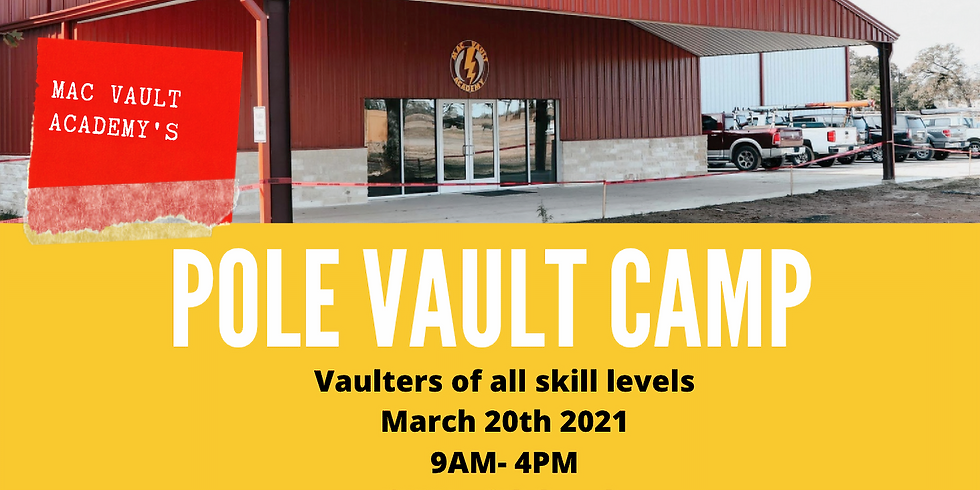 One-Day Pole Vault Camp