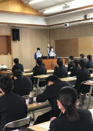 「高校生x企業」交流会in北杜高校