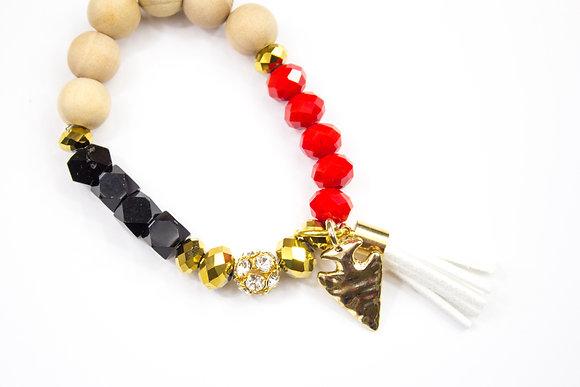 Kansas City Chiefs Bracelet Alternate Colors