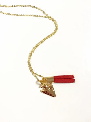 Adult KC Arrowhead Necklace