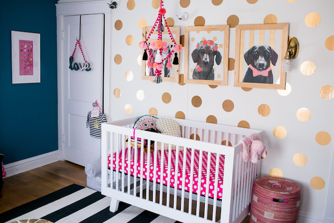 Our Colorful Modern Nursery, and Eleanor's Newborn Shoot