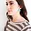 Thumbnail: Red Mini Fringe Earrings