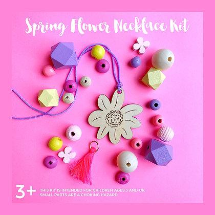 Spring Flower Necklace Craft Kit