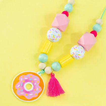 Donut Necklace