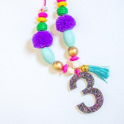 Multicolor Birthday Necklace Wholesale