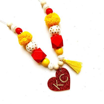 KC Heart Necklace