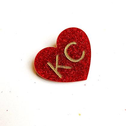 KC Heart Clip