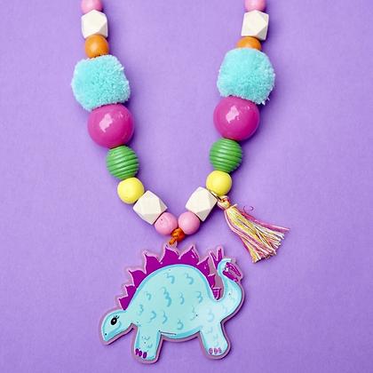 Stegosaurus Necklace - Wholesale