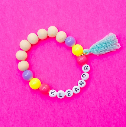 Neon Name Bracelet