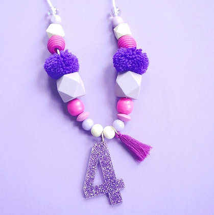 Purple Milestone Necklace