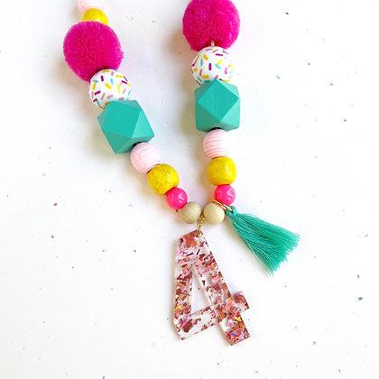 Sprinkles Birthday Necklace