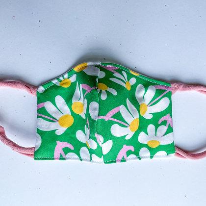 Little Kid Mask - Retro Daisy