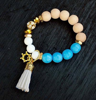 Kansas City Royals Bracelet, Powder Blue