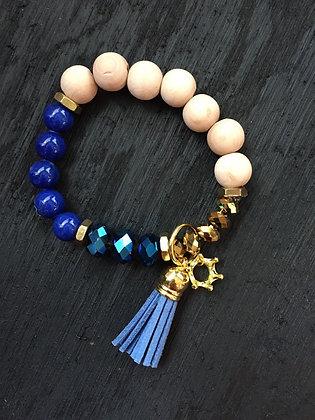 Kansas City Royals Bracelet, Royal Blue