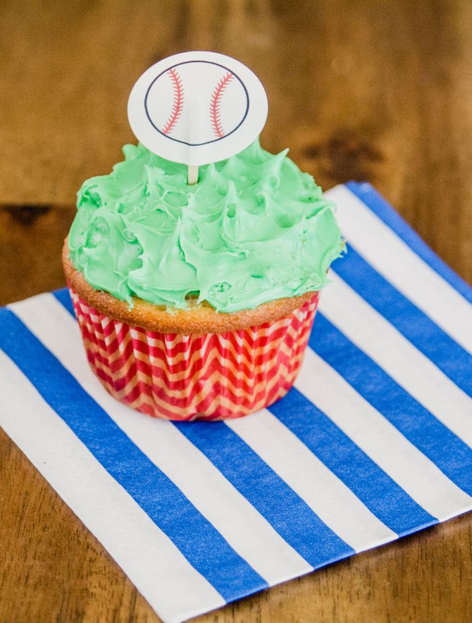Baby Boy Baseball Themed Baby Shower
