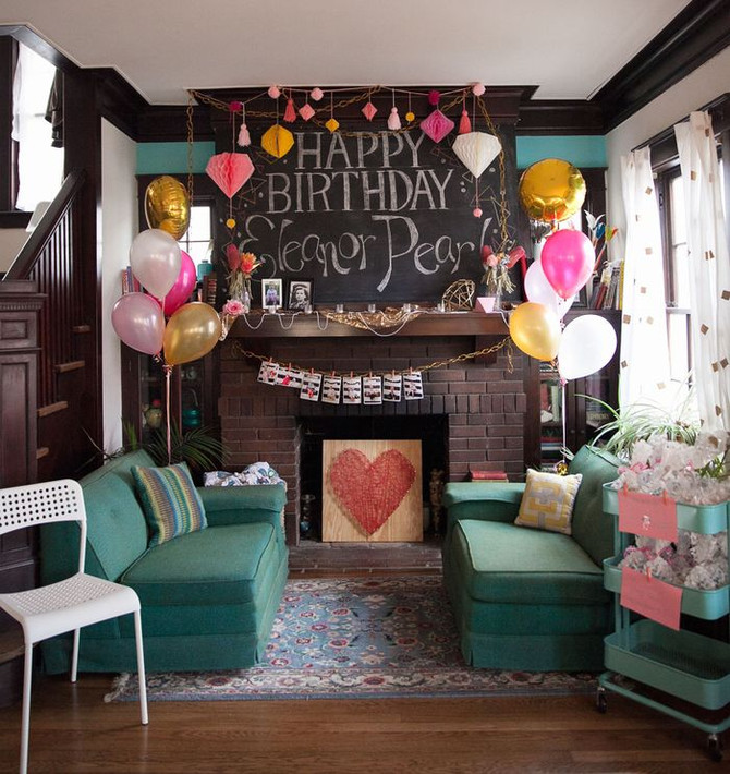 Eleanor's Geometric and Jewel Themed First Birthday Party