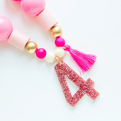 Pink Birthday Necklace Wholesale