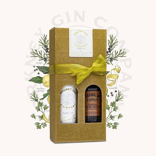 Camp 34 Lemon Gin and Perfect Pairing Gift Box