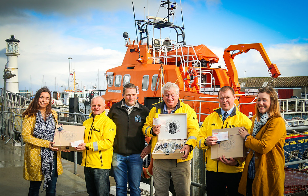 RNLI, Lifeboat, Kirkwall Lifeboat, Orkney, Orkney Gin Company, Johannistag, Donation