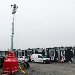 SITE-SECURITY OBSERVER sikrer byggeplads overvågning