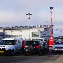 SITE-SECURITY OBSERVER ved autoforhandler