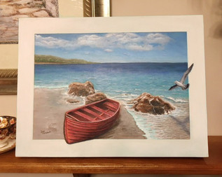 Peaceful Waters Painting