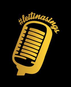 #leitinasings Mic Logo