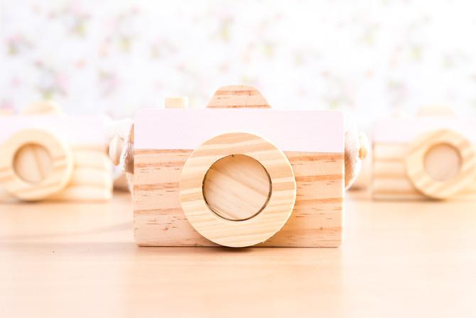 Enfeites de madeira para os pequenos!