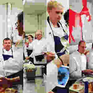 Seul ou en groupe, toutes les configurations sont possible pour les cours de cuisine particulier proposés par Michel Devillers à Nice
