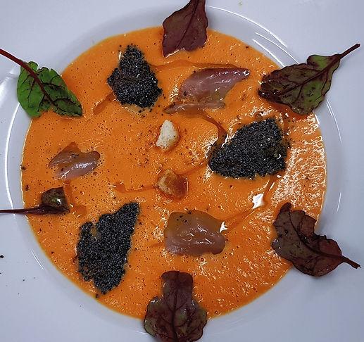 Soupe de Courge à l'orange