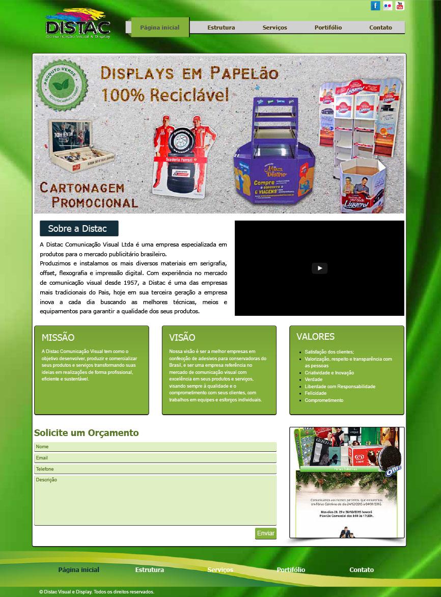 Site Distac Visual