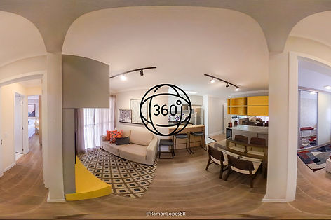 Foto em 360 graus VR