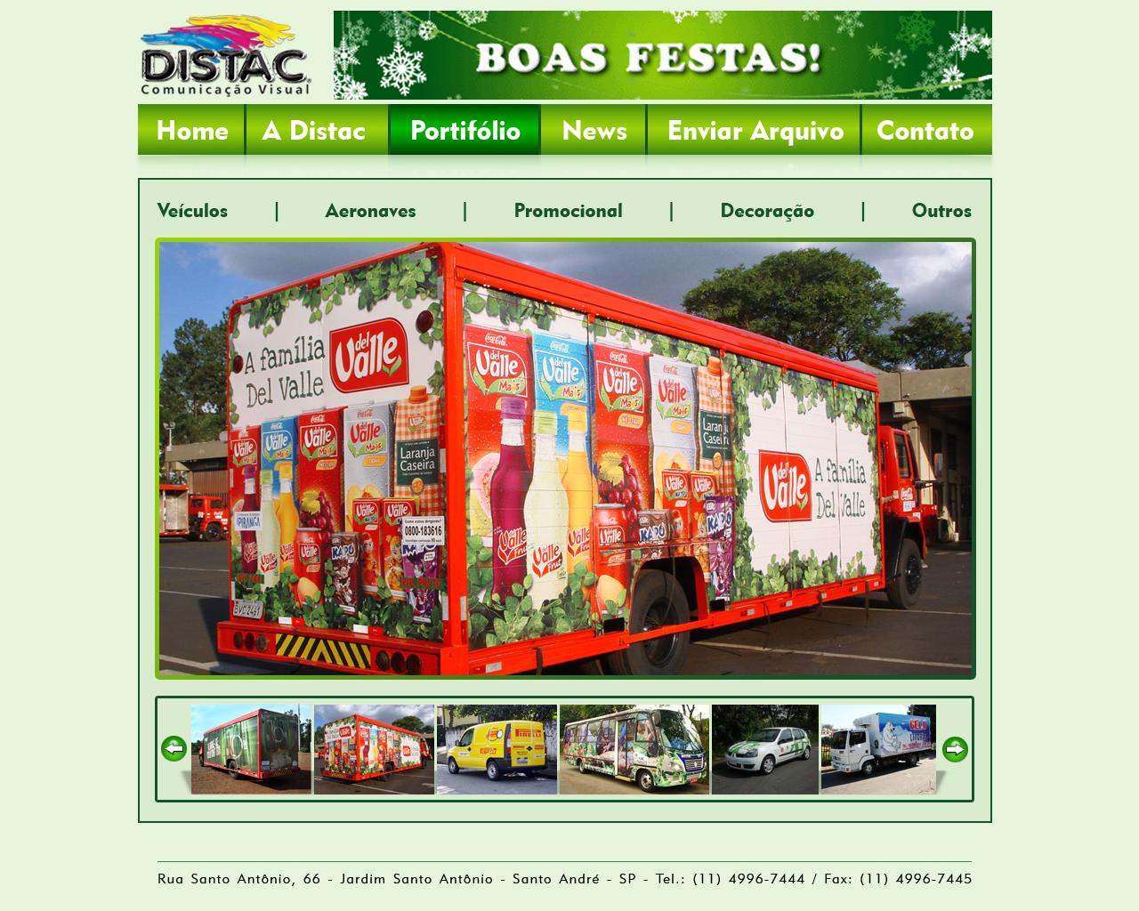 Site Distac 2012