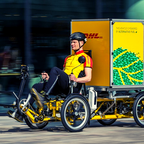 DHL Group Fleet Electrification