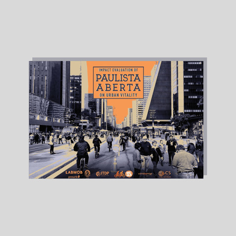 Impact Evaluation of Paulista Aberta on Urban Vitality [booklet] (2019)